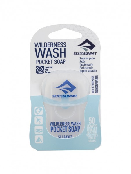 """SEA TO SUMMIT - """"Wilderness Wash Pocket Soap"""" - 50 leaves"""