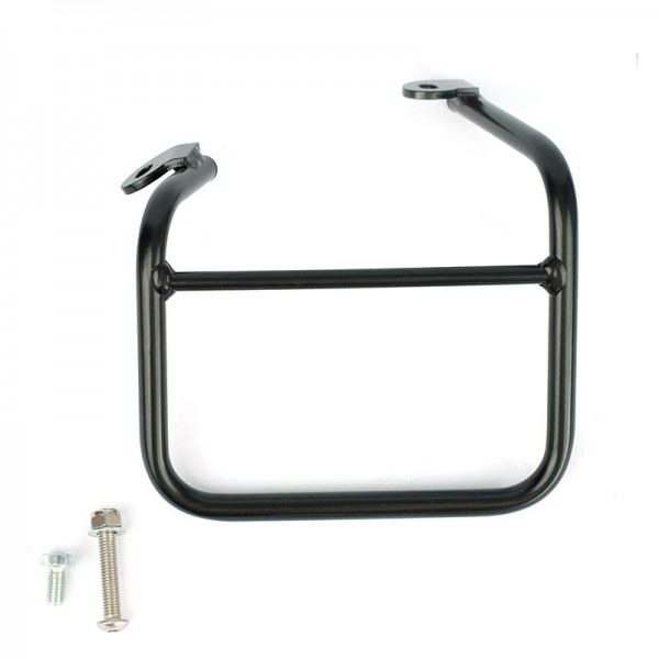 """UNITGARAGE - """"Left Frame for Ducati Scrambler 1100 with Double Exhaust on Right"""" - black"""