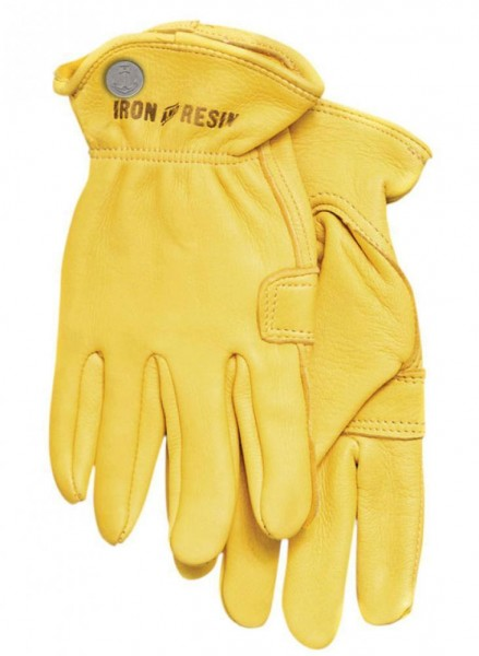"""IRON & RESIN Gloves - """"Cafe"""" - gold"""