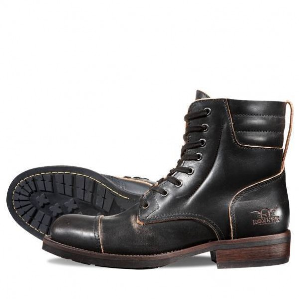 """ROKKER Boot - """"Urban Racer 8 inches"""" - motorcycle boots - black"""