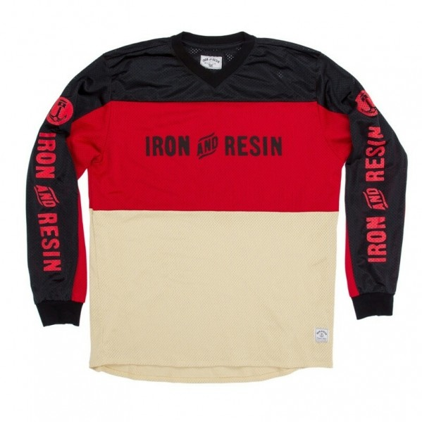 "IRON & RESIN Longsleeve - ""Nationals Jersey"" - black & gold"