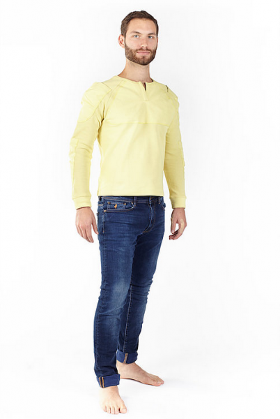 "BOWTEX Shirt - ""Unisex Yellow"""