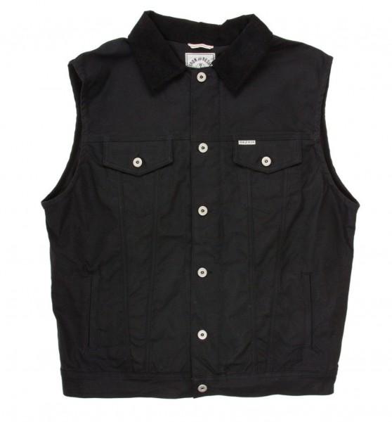 "IRON & RESIN Vest - ""Rambler"" - black"