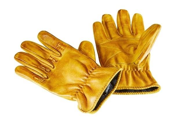 "ROKKER Gloves - ""Ride Hard"" - yellow"