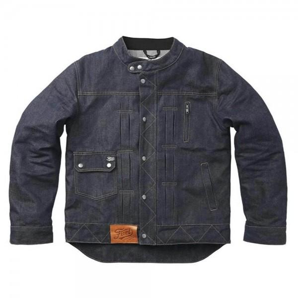 FUEL BESPOKE Greasy Jacket blue