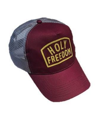 """HOLY FREEDOM Hat - """"Arney Bordeaux"""" - red"""