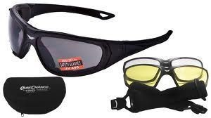 """GLOBAL VISION - """"Quik Change Kit"""" - goggles with interchangeable lens"""