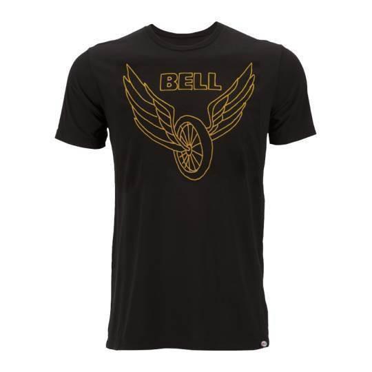 "BELL T-Shirt - ""Wing & Wheel"" - black"