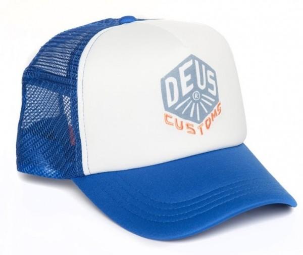 """DEUS EX MACHINA Hat - """"Skoot Trucker"""" - ultramarine blue"""