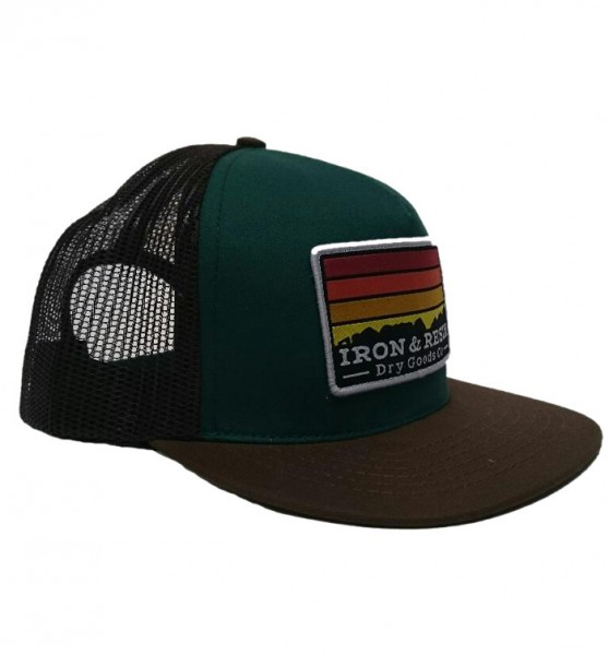 """IRON & RESIN Hat - """"Horizon"""" - brown"""