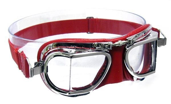 """HALCYON Goggles - """"Mark 49 Compact"""" - red"""