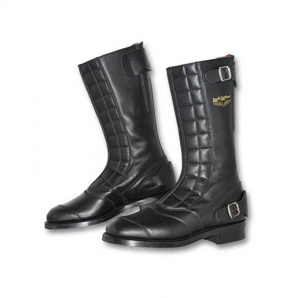 """LEWIS LEATHERS Motorcycle Boots - """"177 Road Racer"""" - black"""