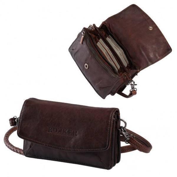 """ROKKER Wallet - """"Lady Wallet"""" - dark brown"""
