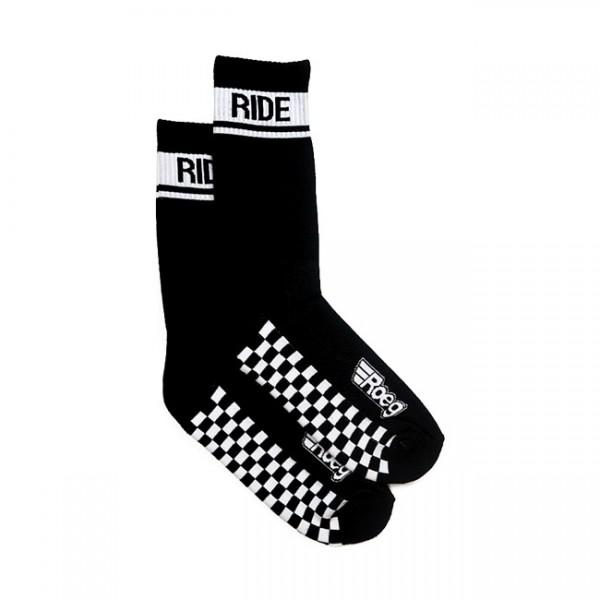 ROEG Socks Early Finish in Black