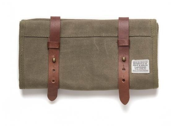 """DEUS EX MACHINA Tool Roll - """"Carry Tool Roll"""" - olive"""