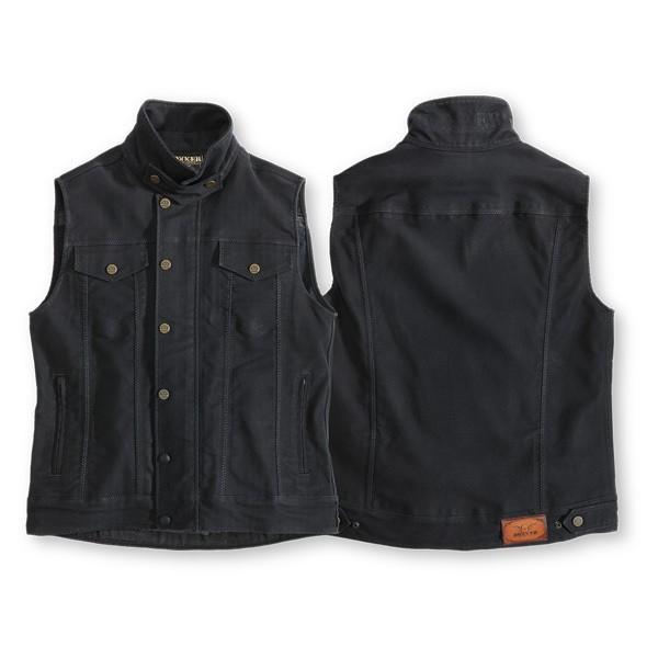 """ROKKER Vest - """"Black Jack"""" - black"""