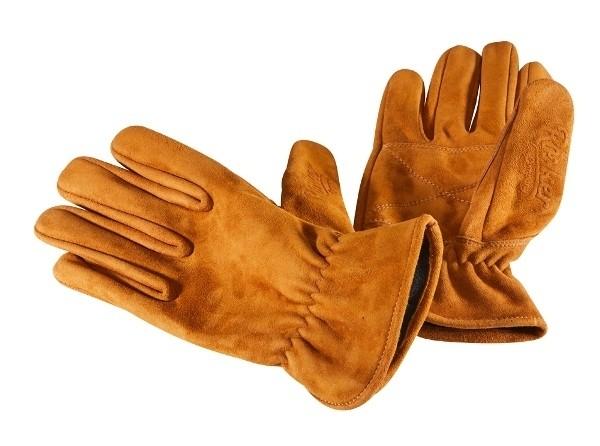 "ROKKER Gloves - ""Nubuk"" - brown"