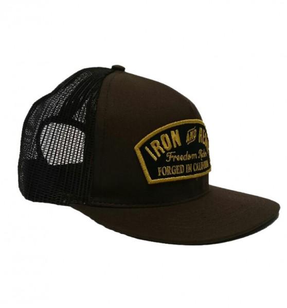 """IRON & RESIN Hat - """"Ranger"""" - brown"""