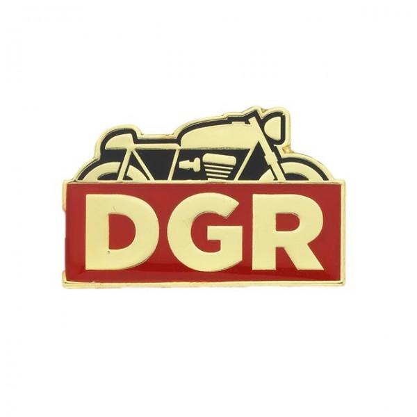 DGR Racer Pin gold