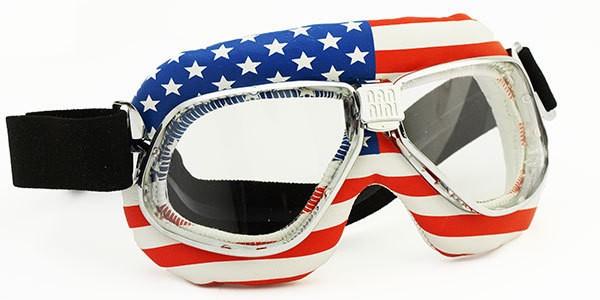 """NANNINI - """"Flag USA"""" - stars-stripes - transparent"""