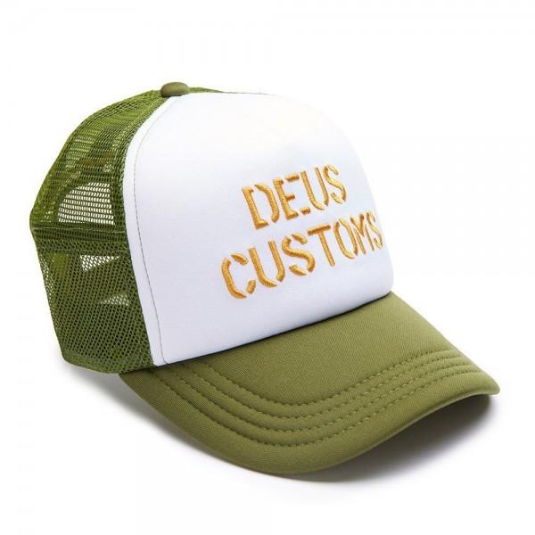 """DEUS EX MACHINA Hat - """"Brando Trucker"""" - olive"""