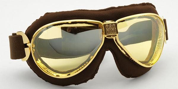 """NANNINI - """"TT"""" - gold, brown & yellow mirror"""