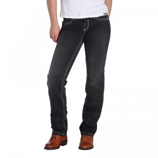 """ROKKER Women's Jeans - """"The Lady"""" - black"""