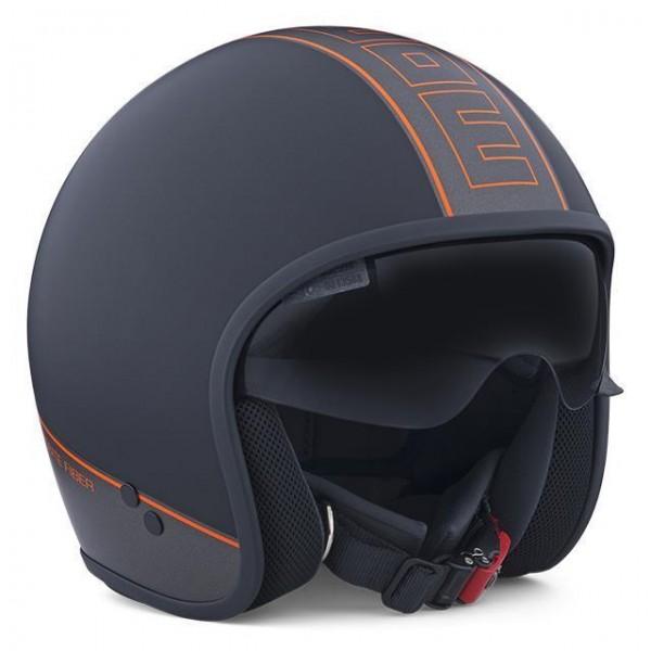 MOMO Helmet CRUISER black-matt-orange