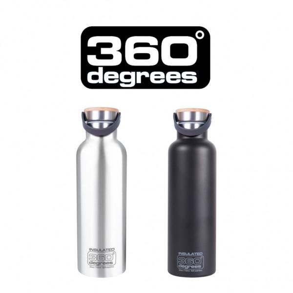 "360 DEGREES Bottle - ""Vacuum Insulated"" - 750ml"