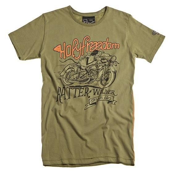 """HOLY FREEDOM T-Shirt - """"Ratter Green"""" - green"""