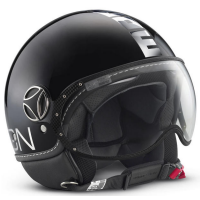 MOMO Helmet FGTR black-chrome - ECE
