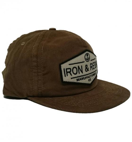 "IRON & RESIN Hat - ""Terrain"" - camel"