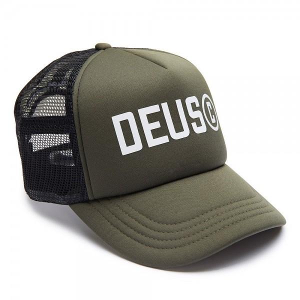 """DEUS EX MACHINA Hat - """"Cooper Trucker"""" - grey-green"""