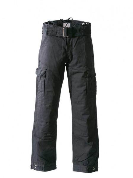 "JOHN DOE Cargo Pants - ""Regular Cargo"" - black"