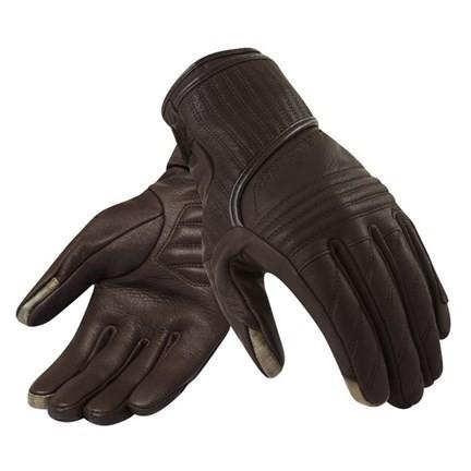 """REV'IT Women's Gloves - """"Antibes"""" - dark brown"""