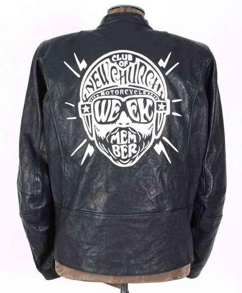 "MEINDL Jacket - ""Rebel 24 Club of Newchurch"" - black"
