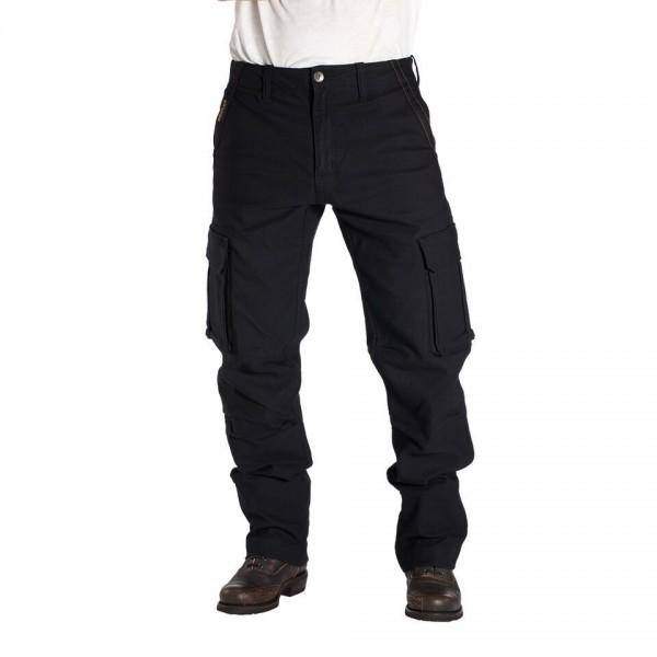 "ROKKER Cargo Pants- ""Black Jack CE"" - Dynatec, black"