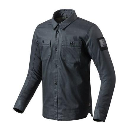 "REV'IT Overshirt - ""Tracer"" - blue-black"