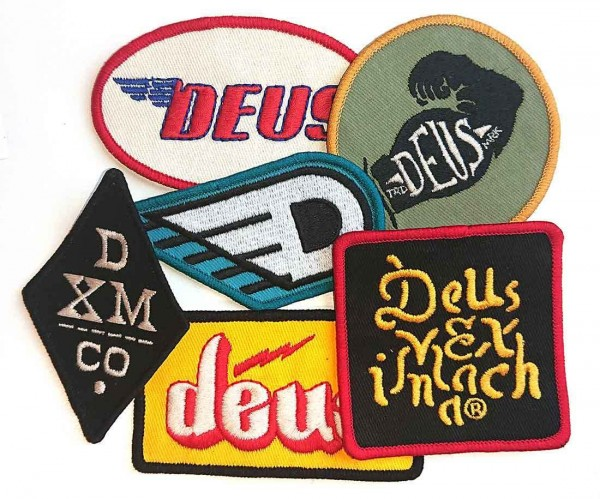 """DEUS EX MACHINA Patches - """"Patch Pack Two"""" - set of 6 patches"""