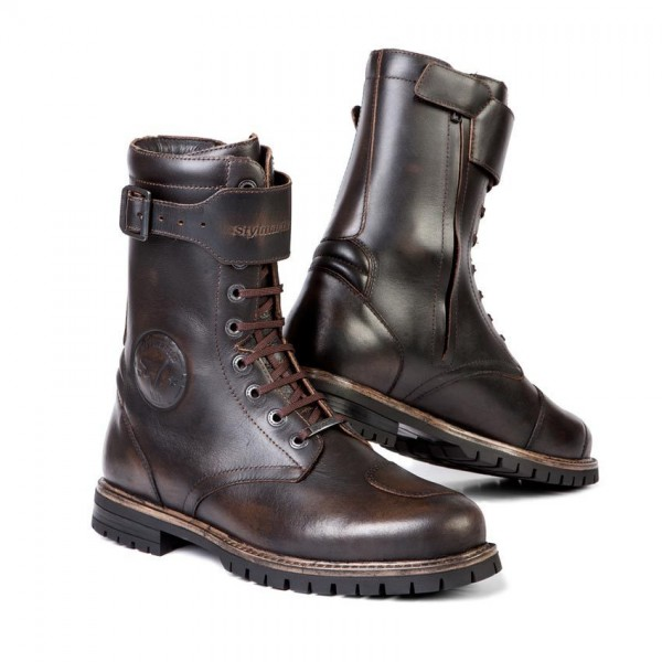 STYLMARTIN Motorcycle Boots Rocket brown