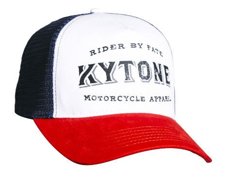 "KYTONE Hat - ""Free-Cut"" - red, white & blue"