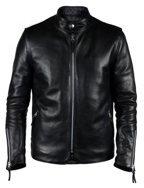 "EL SOLITARIO - ""Kraken Leather Jacket"" - black"