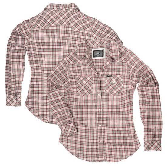 """ROKKER Women's Shirt - """"Brendas Vintage"""" - checkered"""