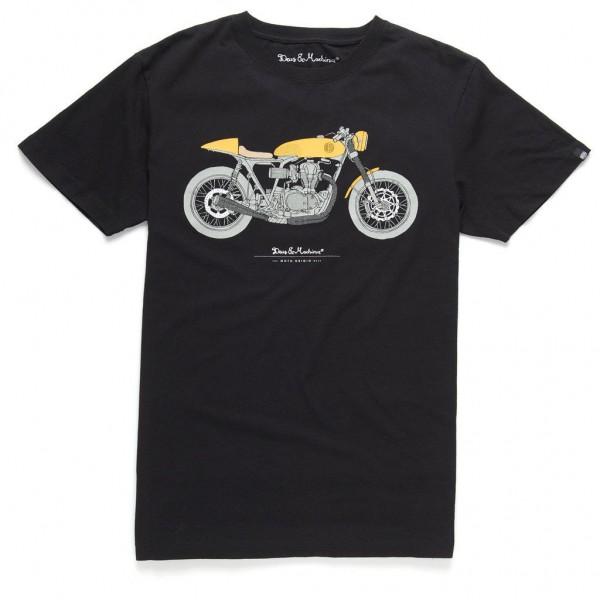 """DEUS EX MACHINA T-Shirt - """"Moto Grigio Tee"""" - black"""