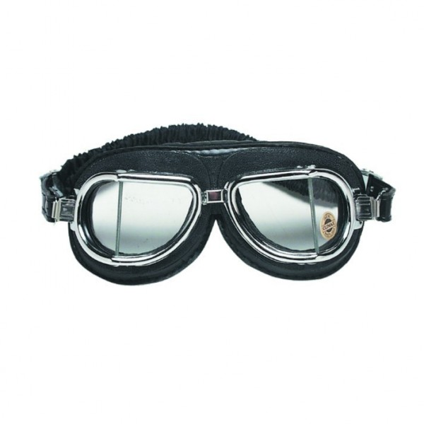 "CLIMAX Goggles - ""513-NP"" - chrome & black"