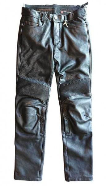 "MEINDL Leather Pants - ""Rebel 24 Water Buffalo"" - black"