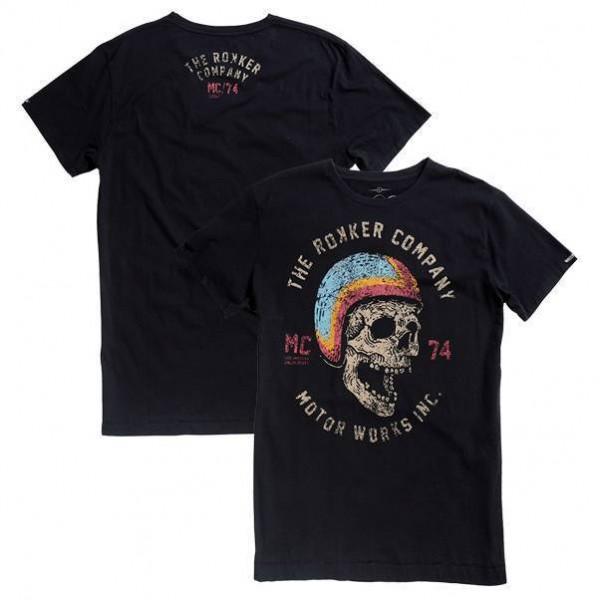 """ROKKER T-Shirt - """"Hellmut"""" - black"""