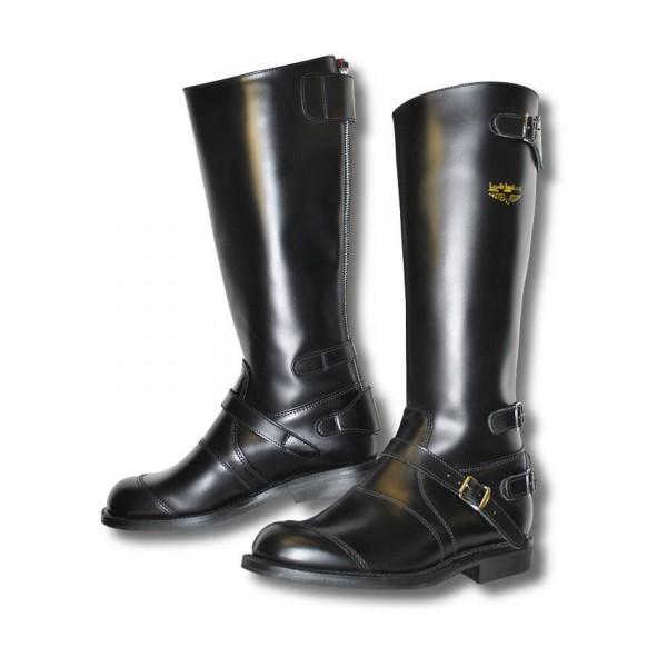 "LEWIS LEATHERS Motorcycle Boots - ""191 Motorway"" - black"