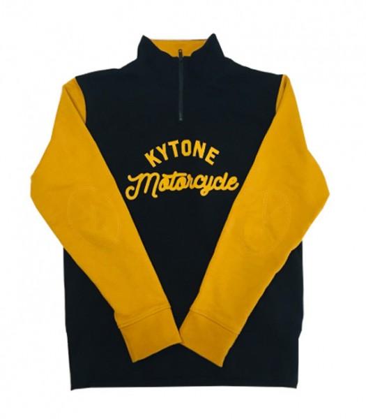 "KYTONE Sweatshirt - ""Racer"" - black & yellow"
