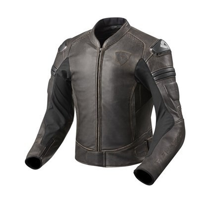 """REV'IT Jacket - """"Akira Vintage"""" - dark brown"""